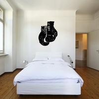 Boxing Gloves Vinyl Wall Decal Sticker Graphic