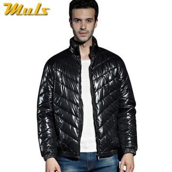 Muls Winter jacket men Cold degree lightweight basic male down parkas coat for man Keep warm windproof jacket coat L-5XL MC606