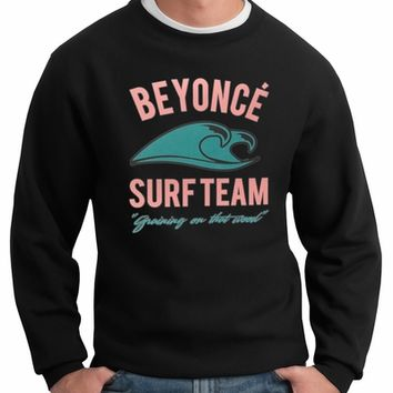 Beyonce Surf Team Crew Neck Sweatshirt