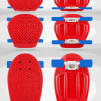 Red/White/Blue Penny Skateboard