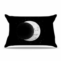 "Digital Carbine ""Slideshow"" Black Kids Pillow Case"