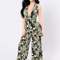 Island Dreams Jumpsuit - Black