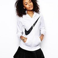 Nike Swoosh Zip Through Hoodie