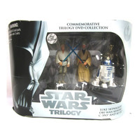 A New Hope Star Wars Trilogy Commemorative DVD Collection Action Figure Set