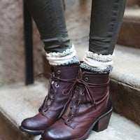 Free People Aberdeen Lace Up Boot