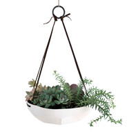 Faceted Hanging Planter