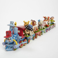 Enesco Jim Shore Disney Traditions Disney Birthday Train Set New