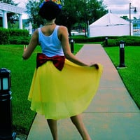 Snow White Inspired Skirt