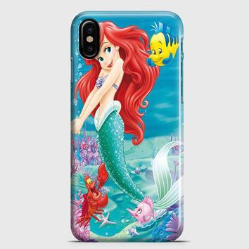 The Little Mermaid Party iPhone X Case