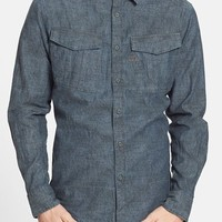 Men's G-Star Raw 'Rovic' Print Chambray Shirt