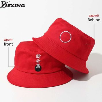 Panama Two Side Reversible unisex fashion Bucket Hat Bob Caps Hip Hop Gorro Men Summer Sun Cap sad boys Beach BTS Bucket Hat