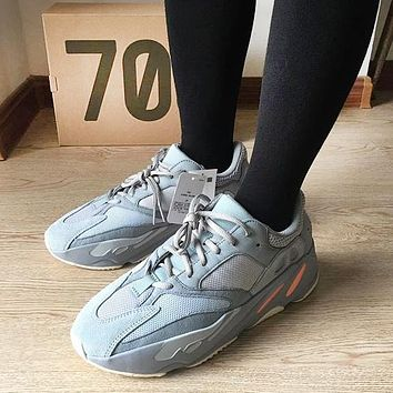 Adidas Yeezy 700 Runner Boost New Fashion Vintage Women Men Sneakers Running Sport Shoes Grey