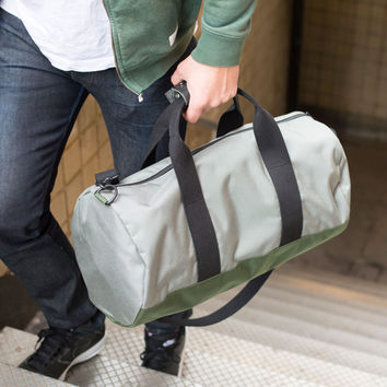 "Silver ""Stay Sharp"" Duffel"