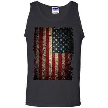 Admirable American Flag Ripped Grunge 2017 T Shirt