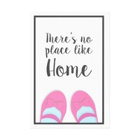 There's no place like home house warming gift canvas print | Zazzle.co.uk