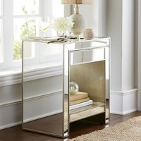 Alexa Mirrored Nightstand