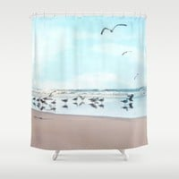 the gathering Shower Curtain by sylviacookphotography