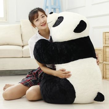 Cute Baby Big Giant Panda Bear Plush Stuffed Animal Doll Animals Toy Pillow Cartoon Kawaii Dolls Girls Gifts Knuffels