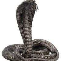 King Cobra Bronze Finish Statue