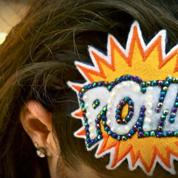 Glam POW Headband from the Comic Collection