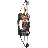 Barnett Outdoors Buck Commander Banshee Compound Bow Set - Youth (Black)