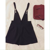 🔝Design black overall * NEW WITHOUT TAG*