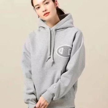 PEAPUP0 Champion Women Fashion Hoodie Top Sweater Pullover4