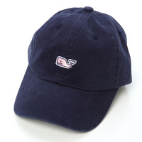 Vineyard Vines Whale Logo Baseball Hat - Vineyard Navy