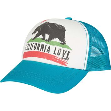 Billabong Girls - Pitstop Trucker Hat | Aruba