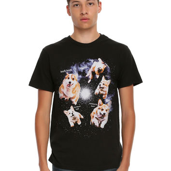Corgis In Space Bork T-Shirt