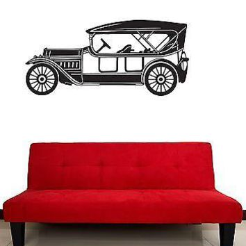 Wall Stickers Vinyl Decal Car Retro Old Vintage Garage Unique Gift (ig917)