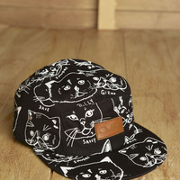 CMBK — CMBK Cat Hat 5 Panel (Black)