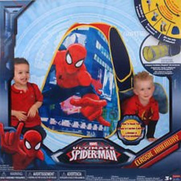 Ultimate Spider-Man Camp 'N Play Tent