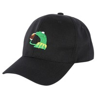 2017 The Frog Sipping Tea Tea Hat Drake Embroidery Cap LeBron James new Classic Dad Hat Popular Baseball cap