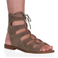 Adaline Sandals in Taupe