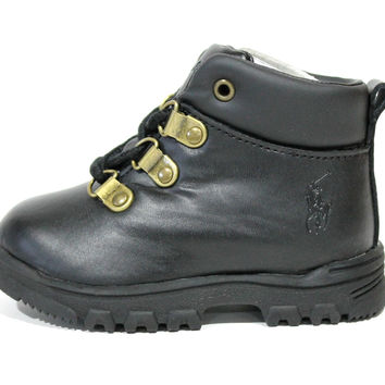 Polo Ralph Lauren Toddler's Hainsworth Black Boot