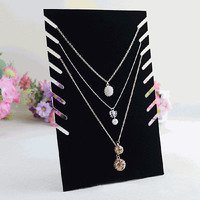 New Necklace Chain Pendant Bracelet Jewelry Display Stand Holder Rack Organizer