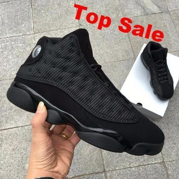 Air Jordan 13 Black Cat 3m Aj13 Retro Men Women Basketball Shoes | Best Deal Online
