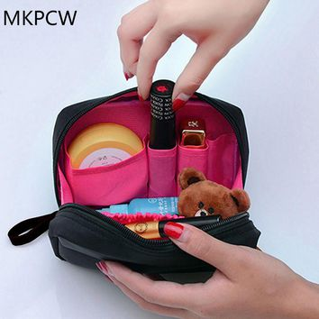 2017 The new Cosmetic Bag Professional Toiletry Bags Travel Makeup Case Beauty Necessaries Make up Storage Beautician Box