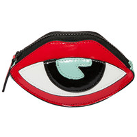 Halloween Color Block Eye Pattern Clutch Bag