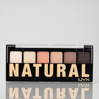 NYX Natural Eye Shadow Palette - Urban Outfitters