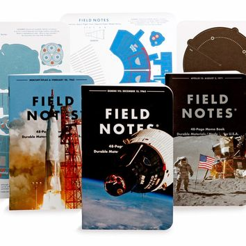Space Mission Edition Notebook 3-Pack