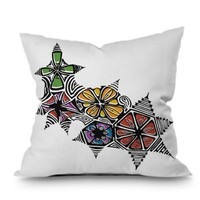 Karen Harris Blossomed Throw Pillow | Find it at the Foundary