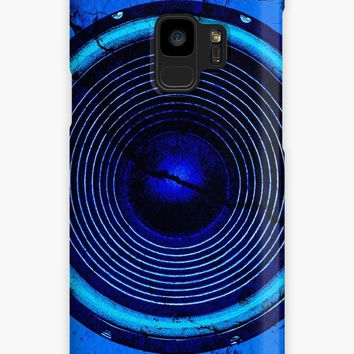 'Cracked blue music speaker' Case/Skin for Samsung Galaxy by steveball