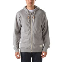 Vans Core Basic Zip Hoodie (Concrete Heather)