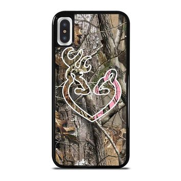 CAMO BROWNING LOVE-PHONE 5 iPhone X Case Cover