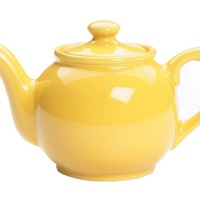 Fox Run 39867 Earthenware Teapot, 55-Ounce, Yellow
