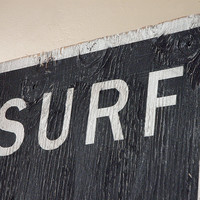 Beach Decor Wall Art, Surf All Day Every Day Wall Sign 11x17