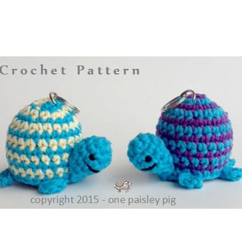 Turtle eos Lip Balm Holder - PDF CROCHET PATTERN