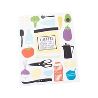 DIY STICKER BOOK: LET'S EAT - Shop By